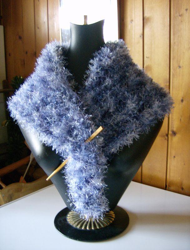 Chauffe épaule gris bleu-jean's