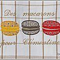 torchon 3 macarons