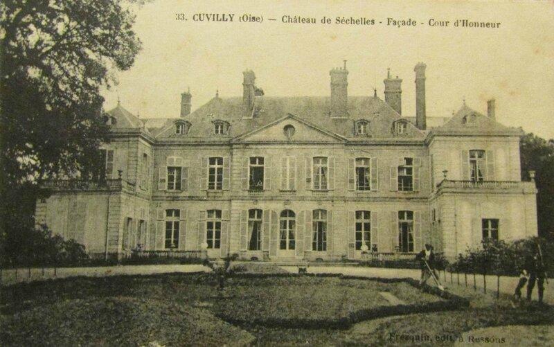 chateau de sechelle cuvilly