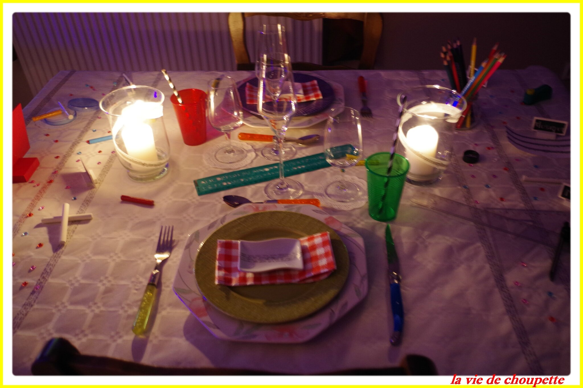 TABLE RENTREE SCOLAIRES 2013-2014