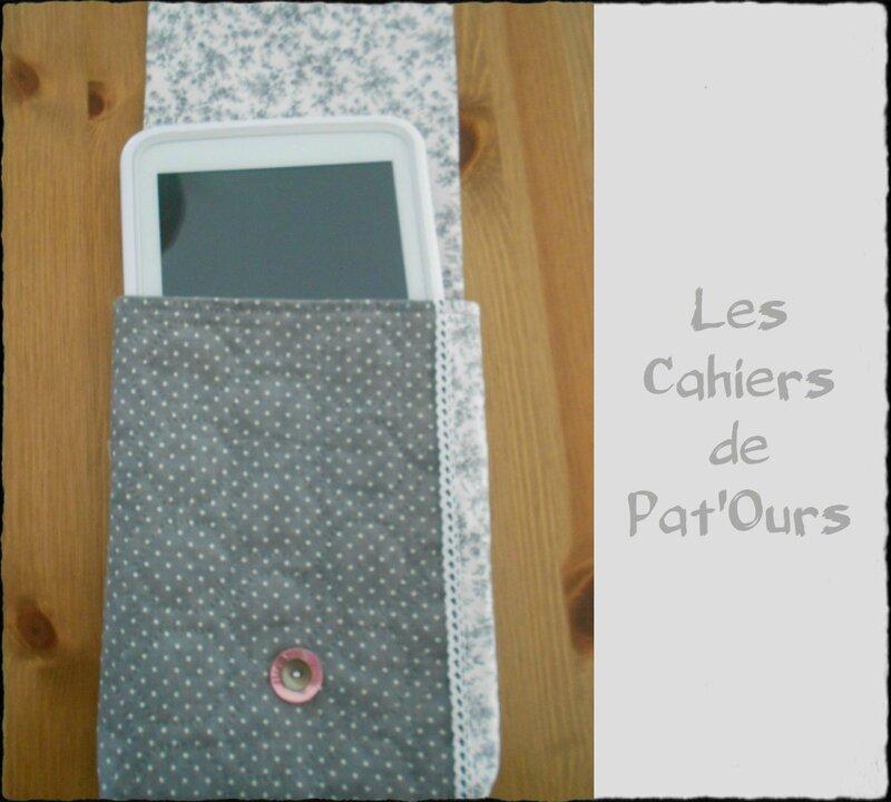 Housse pout tablette Les Cahiers de Pat'ours