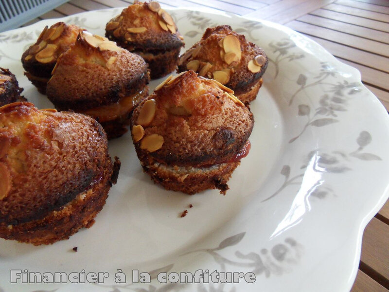financier a la confiture
