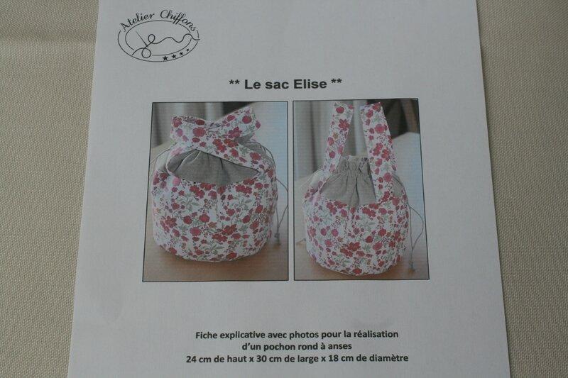 Fiche couture : Pochon Elise