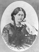 Clemence Royer par Nadar (1865)