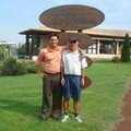 gerlou ROUX et son caddie jean-henri