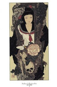Takato Yamamoto Divertimento Artbook ukiyoe ukiyo-e sm manga 008