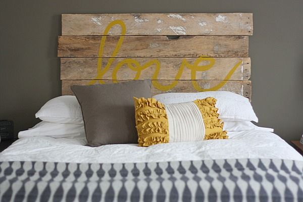 love_bed - Chambres Jaune Moutarde
