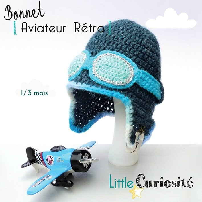 ★ Bonnet Aviateur ★