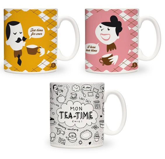 mugs tea time