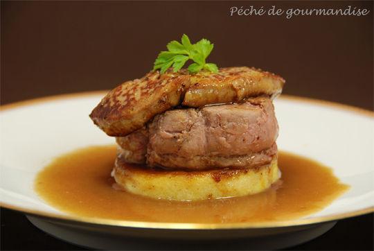 M daillon de veau aux pommes et au foie gras p ch de - Cuisiner le collier de veau ...