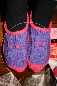 Chaussons Mamie