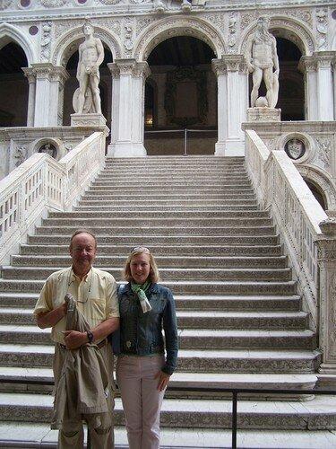 San Marco-palais des Doges et escalier des Géants