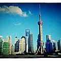La tour pearl, pudong, shanghai