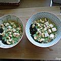 Pâtes aux épinards et noix de cajou