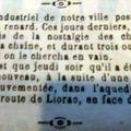 1908 : l'industriel et le renard, le boeuf et le cheval ...