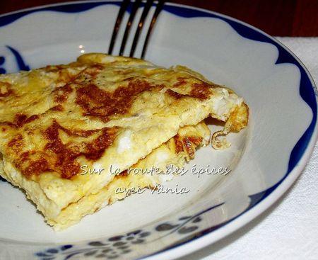 Omelette au lait