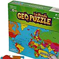 Geo puzzle - le monde
