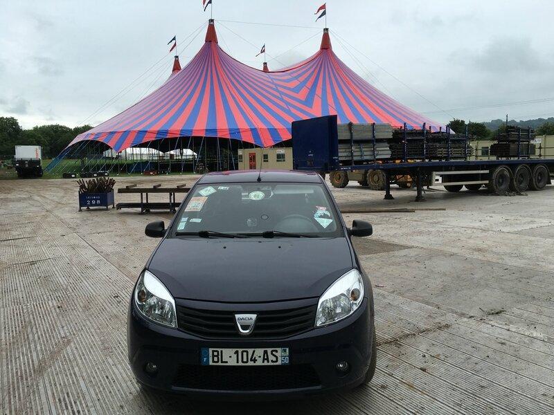 Glastonbury festival 2016 arrivée John Peel Stage