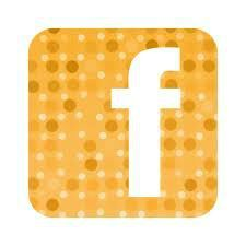 logo facebook orange