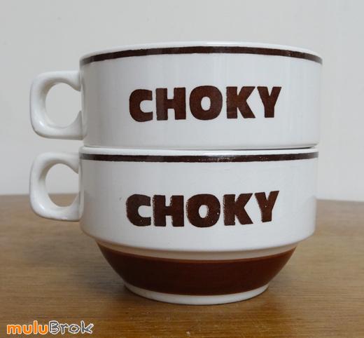 CHOKY-Sarreguemines-Tasses-3-muluBrok-Vintage