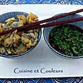 Tempura d'escargots de Bourgogne & condiment asiatique pic 