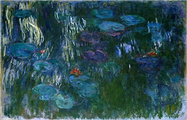 Monet_water-lillies-Two-Variations-On