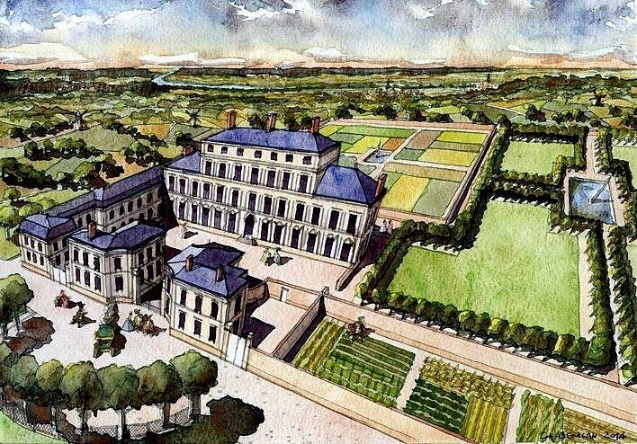Christian-Benilan-Paris-Domaine-de-Fantaisie-dit-chateau-du-Maine-vers-1770-web
