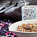 Taboulé au quinoa et à la prune {recette}