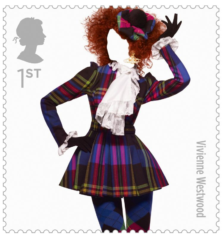 Fashion Stamps Vivienne Westwood
