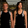 Katniss and Peeta Catching Fire