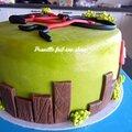 Gateau vélo - bicycle cake