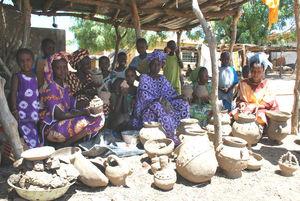 Les Mabobé du village de Gawdé Bofé - Les Potieres