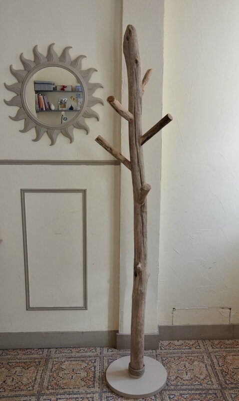 Un nouvel objet en bois flott d co nature cr ations en for Deco nature creation bois flotte