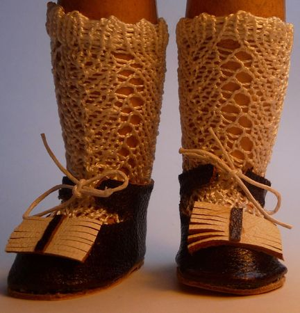 chaussure de poupée