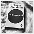 Chronique livre : Underground 
