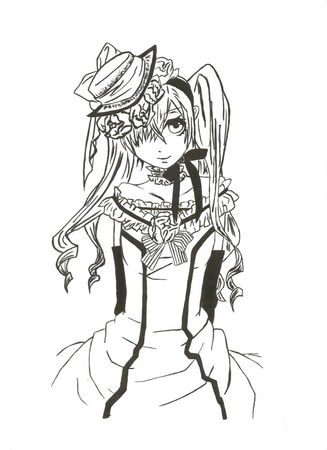 Pin Dessin Manga Fille Tattoo Pictures To On Pinterest Picture