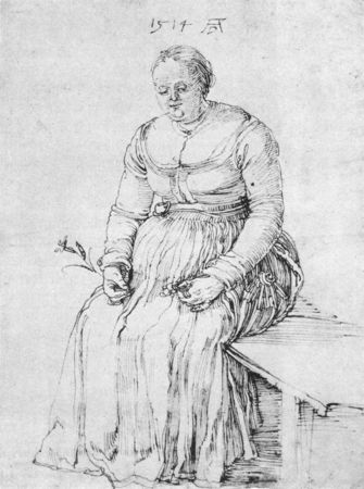 1514_Albrecht_D_RER__Seated_Woman