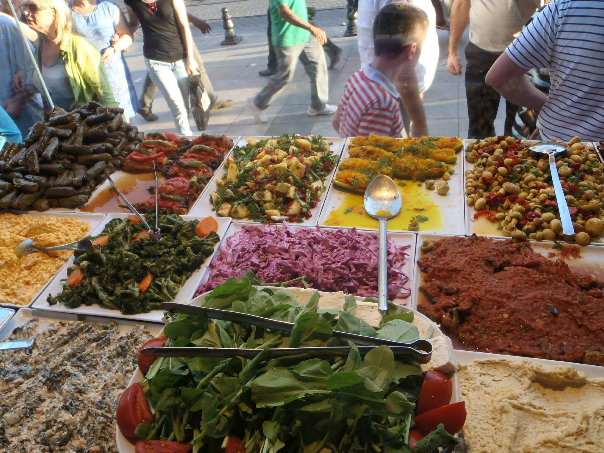 turquie istanbul a table