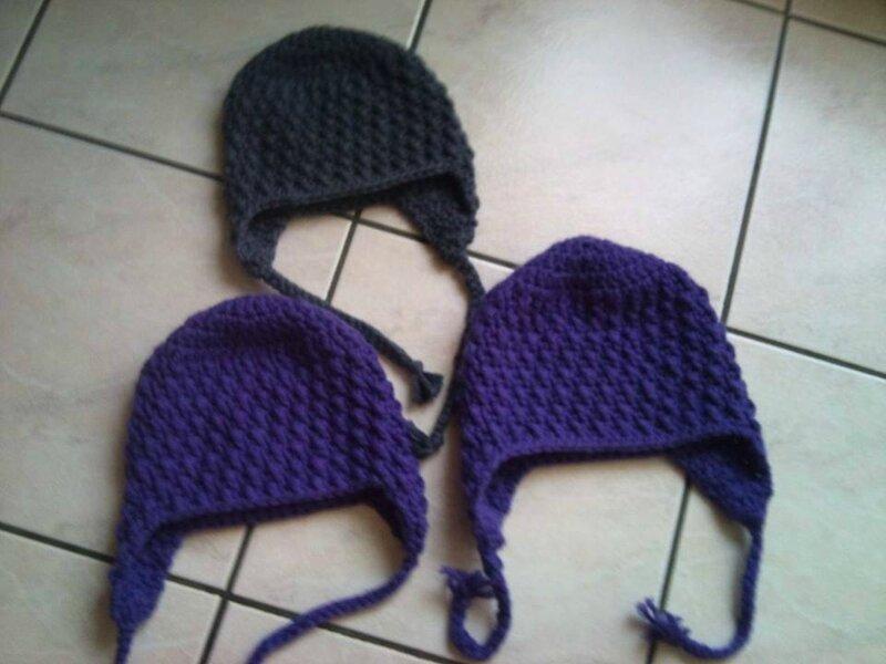 Gut gemocht Les bonnets au crochet bien chaud pour les filles - Les Passions  UD41
