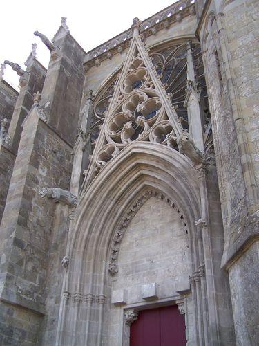 Carcassonne-basilique St Nazaire portail