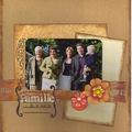 Famille de la mariée