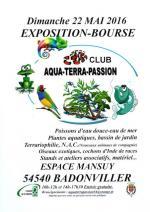 Affiche bourse Aqua Terra Passion Badonviller