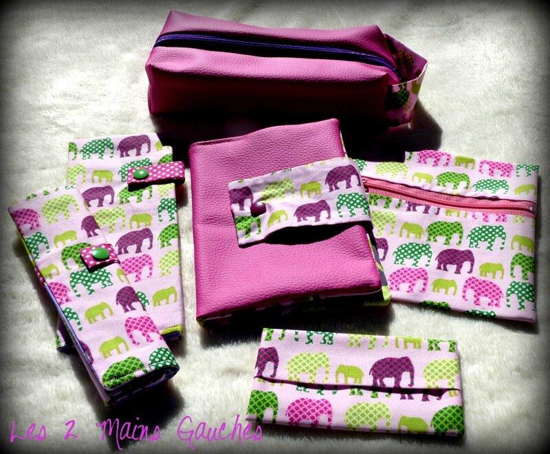 série éléphants