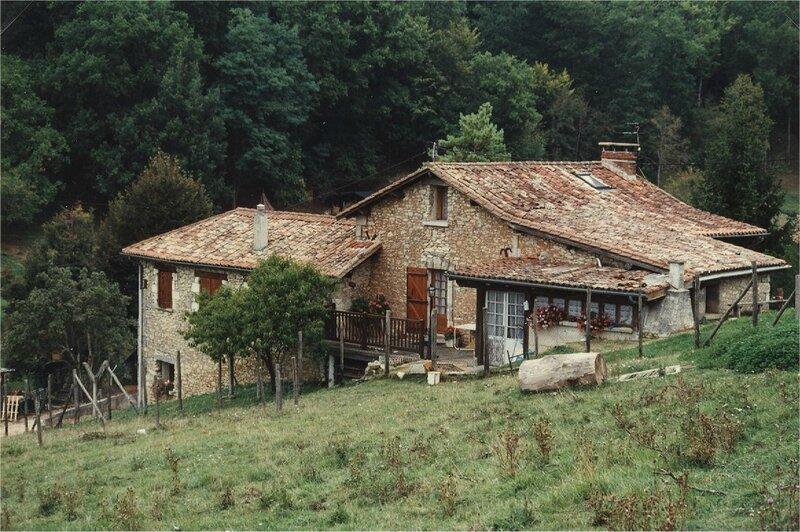 maison restaurée des Mazades