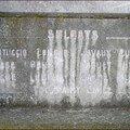 Détail plaque monument Dinant Neffle
