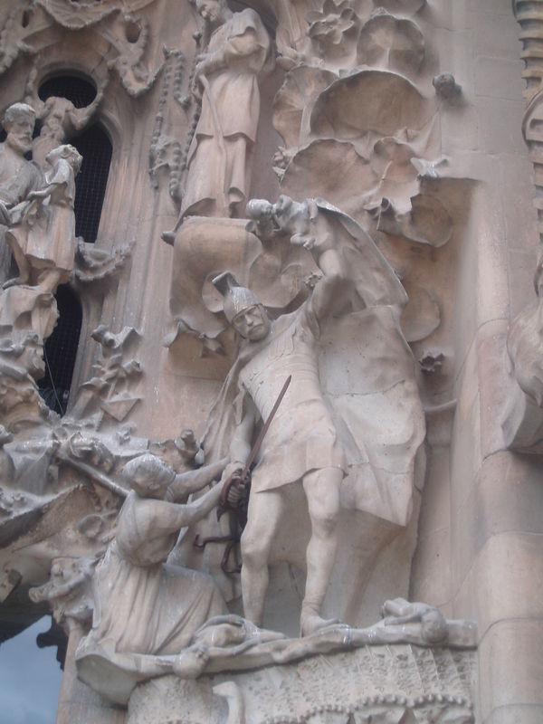 Sagrada Familia Façade de la Nativité Détail 2
