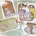 Petites Cartes réalisées en 2010