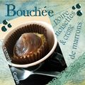 Bouche poire noisettes & crme de marrons