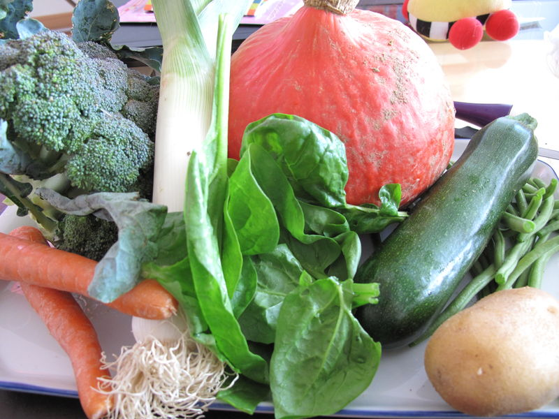 Soupe aux 8 l gumes partir de 6 mois petitpotbebe - Soupe de legume maison ...