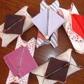 Étui à mouchoir origami suite ....